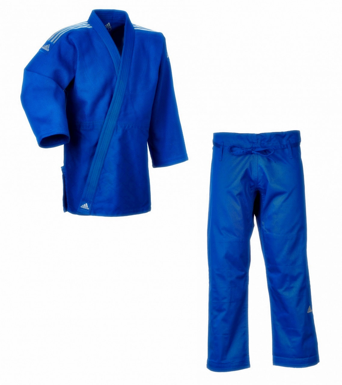 adidas wettkampf judoanzug j650 contest blau judo. Black Bedroom Furniture Sets. Home Design Ideas